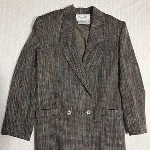 Christian Dior skirt suit
